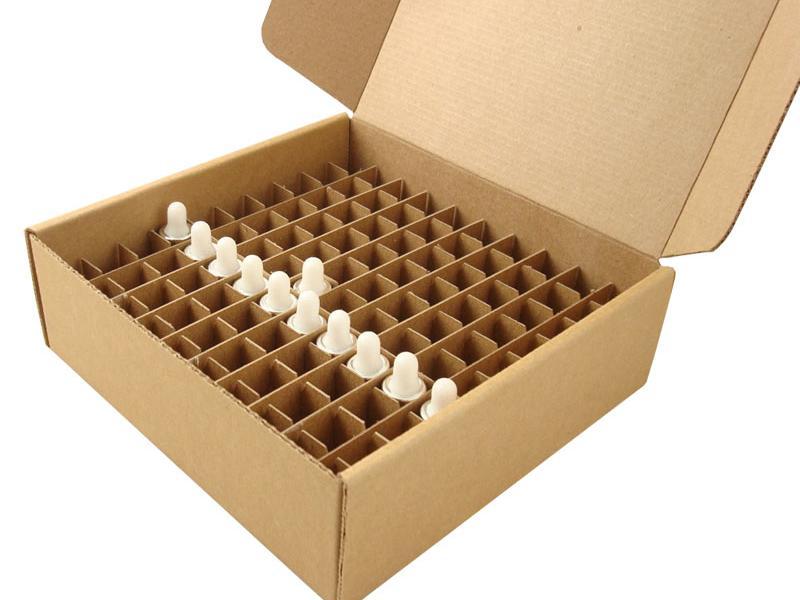 Inserts voor kartonnen dozen