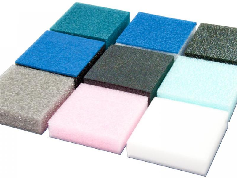 Polyethyleen foam is leverbaar in diverse kleuren