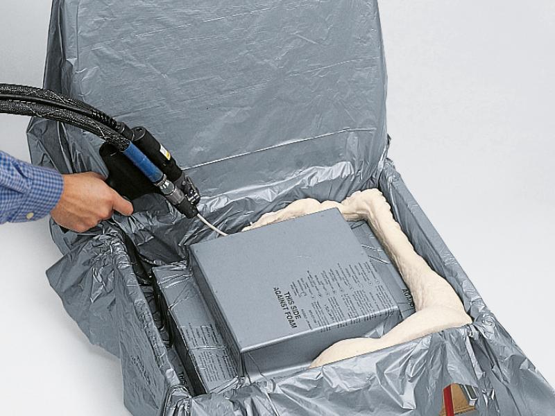Sealed Air Instapak maatwerk schuimverpakkingen