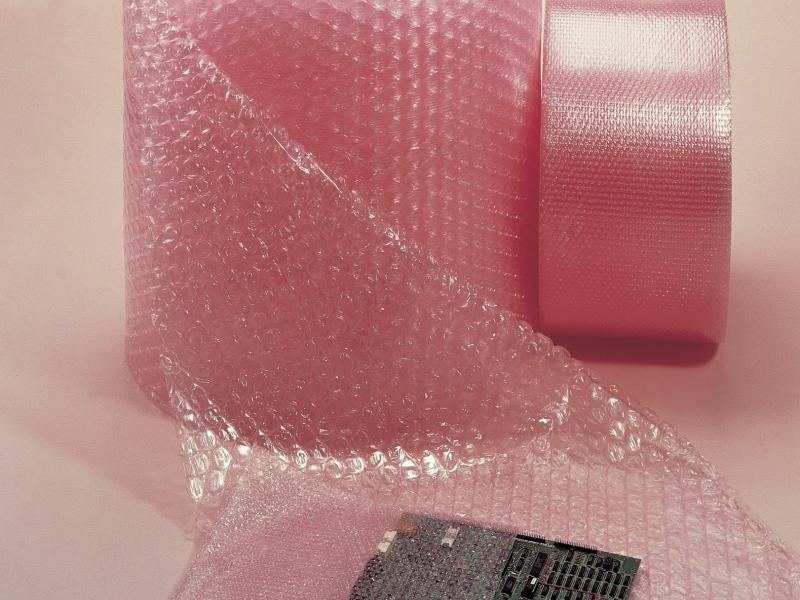 Antistatische zakken, verwerkt uit Aircap Antistatic folie